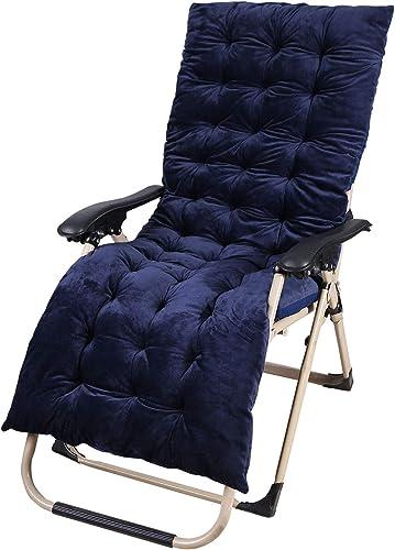 CAMPMAX Patio Chaise Lounge Chair Cushion