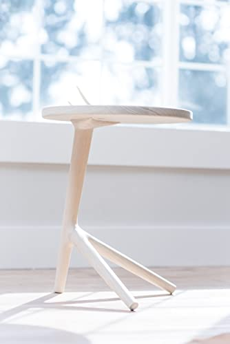 The Tripod Table   White Ash