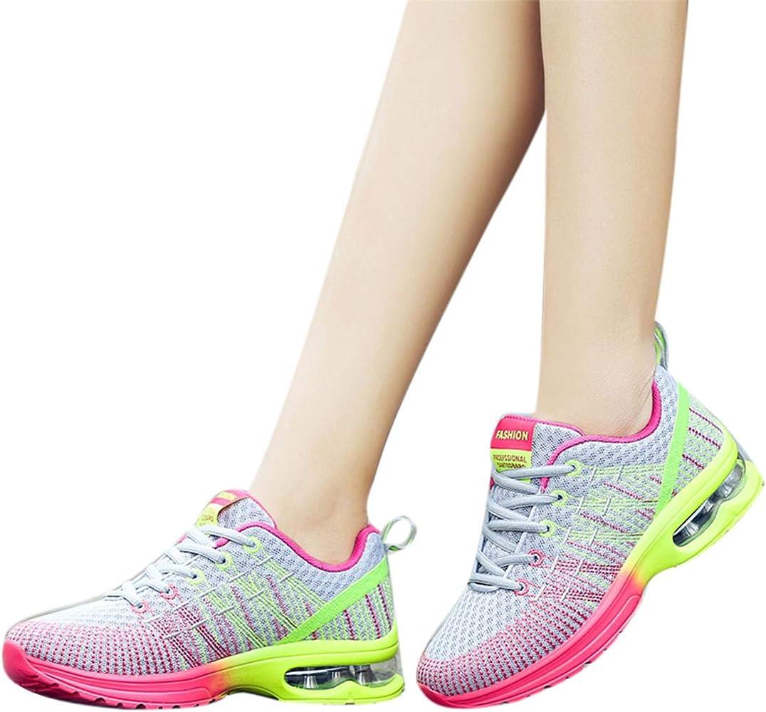 Zapatos Deporte De Running Para Hombre Mujer Con Plataforma De ...