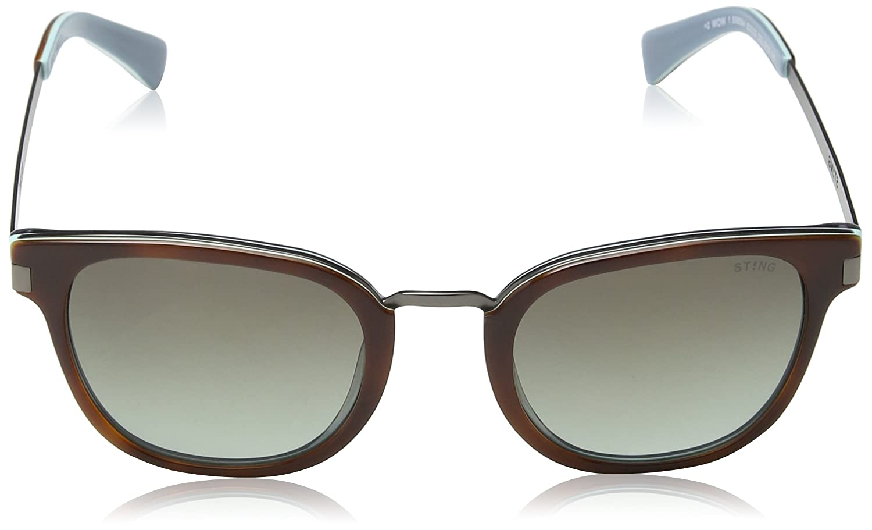 Sting Ss6584, Gafas de Sol para Mujer, Gris (Havana+Blue ...