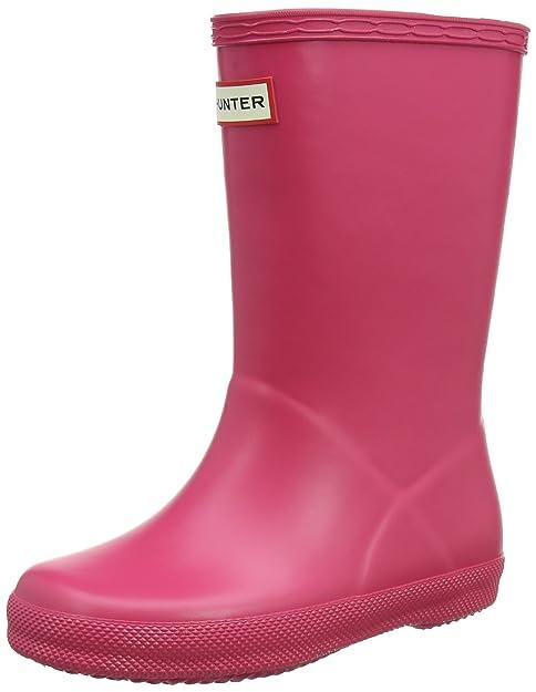 Hunter First Classic, Botas de Agua Unisex Niños, Rosa (Bright Pink Rbp), 27 EU