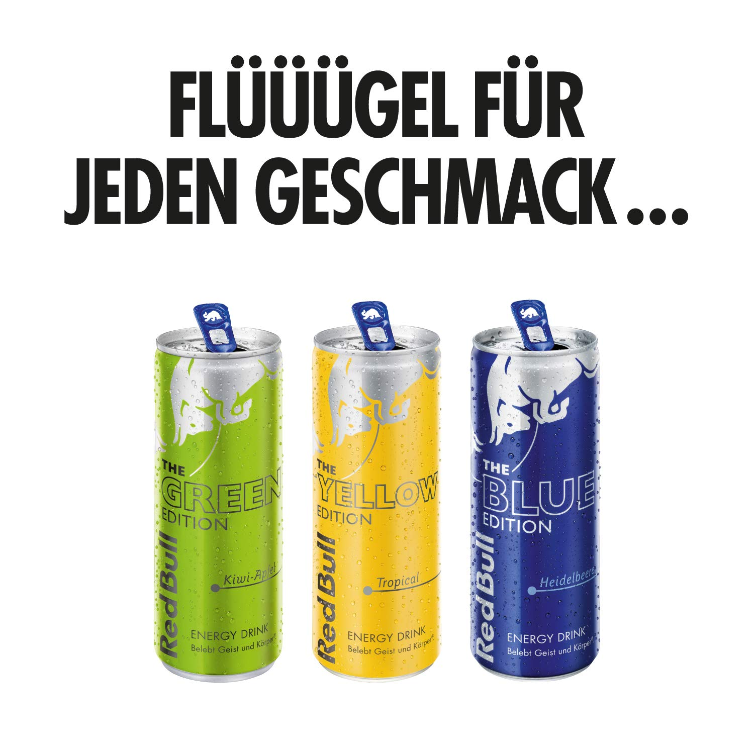 Red Bull Energy Drink Tropical 12 x 250 ml Dosen Getränke Yellow ...