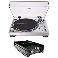 Deals on Audio-Technica LP120X-USB Analog Turntable + Mackie Stereo Box
