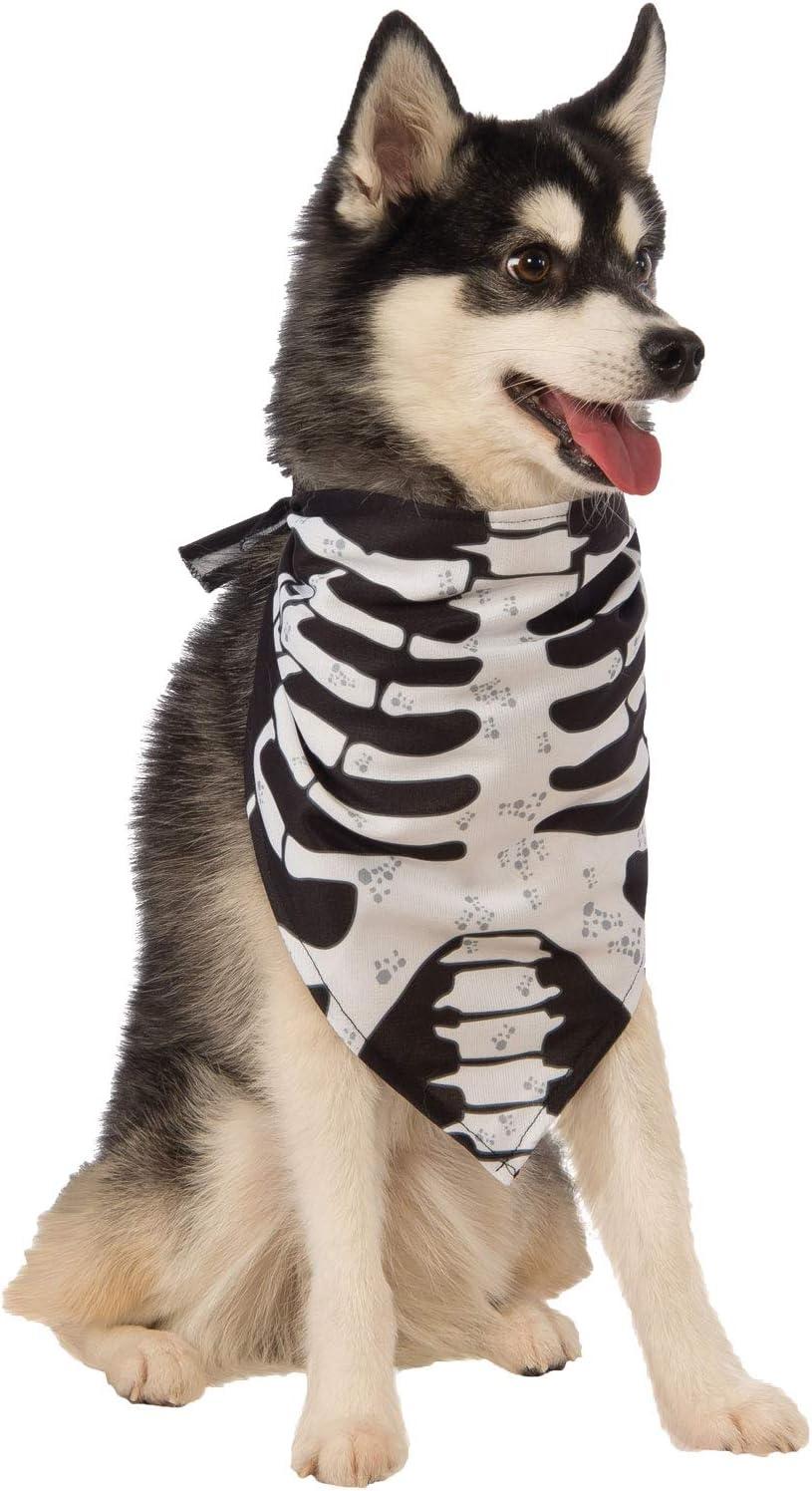 Rubies Costume skelet kostuum hond bandana