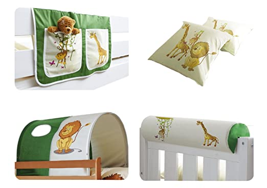 Etagenbett Zubehör : Ticaa kinder hochbett zubehör set teilig amazon küche