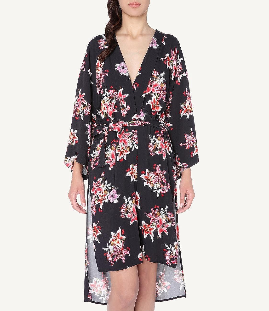 c26cdbd3f973 Intimissimi Womens Flower of Life Long Viscose Kimono: Amazon.co.uk:  Clothing