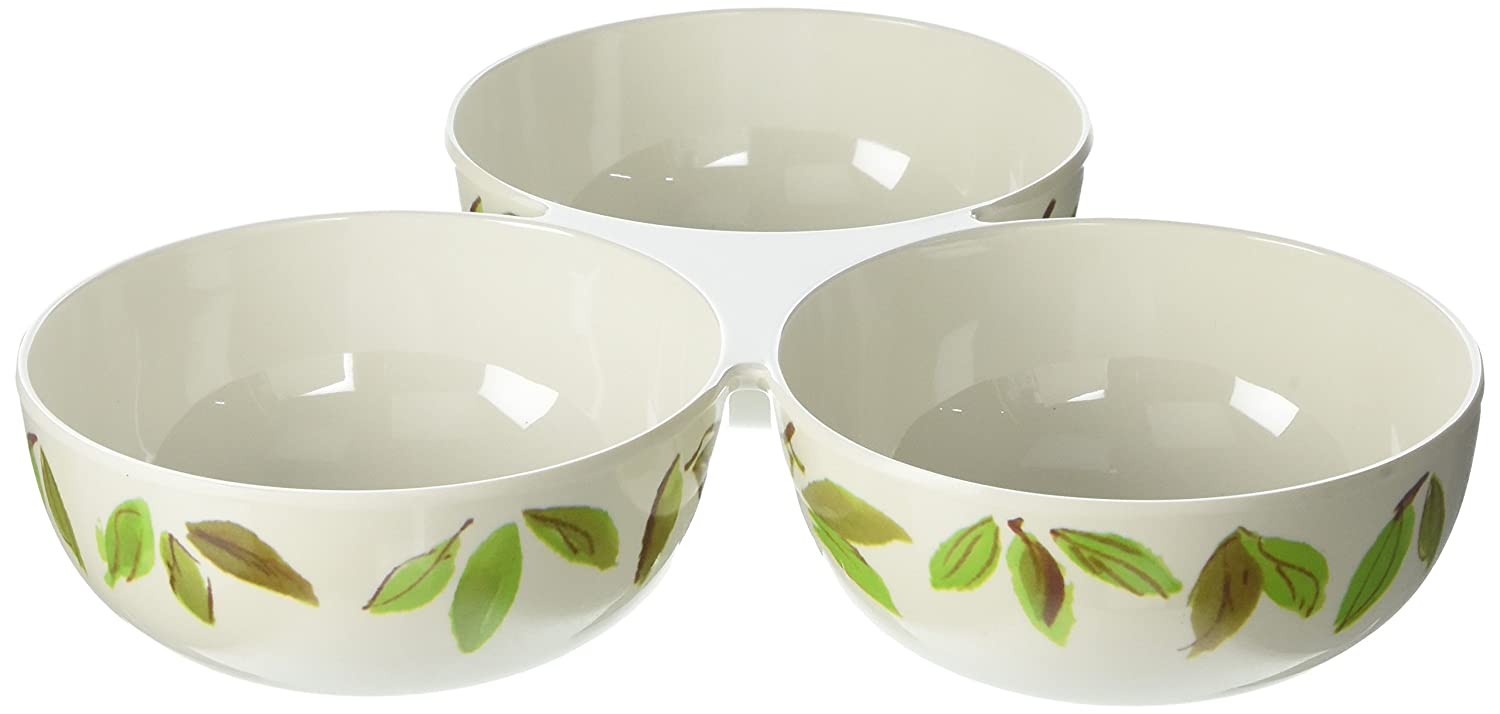 Kate Spade New York Womens Lemon Melamine Trio Bowl