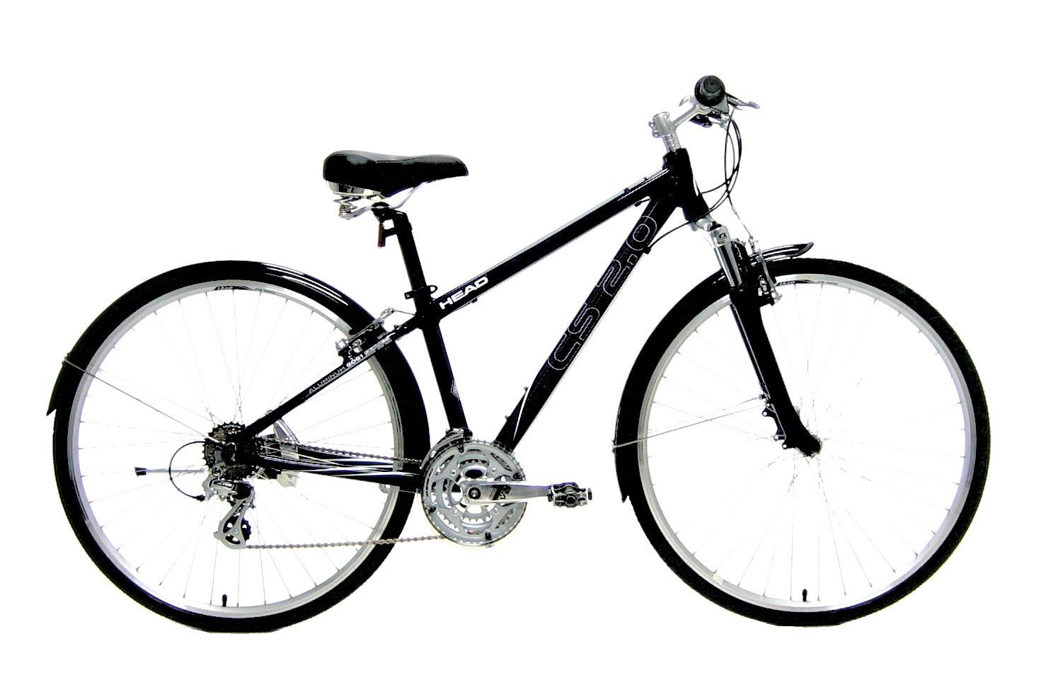 HEAD(ヘッド) クロスバイク フロントサス付 3X7SPEED ブラック CS-2.0 B007Q00UPC