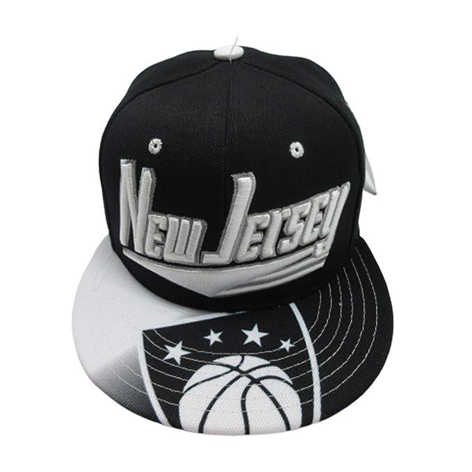 Amazon.com: New Jersey Brooklyn City Gorra de baloncesto de ...