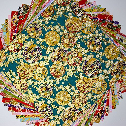 Japanese Paper Yuzen Washi Chiyogamim 7.9x7.9