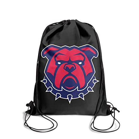 61855d892859 Amazon.com  GkitRoyal Cute Aggressive Bulldog Shoulder Drawstring Bags  Perfect String Backpack Adjustable Strap Sport Travel  Sports   Outdoors
