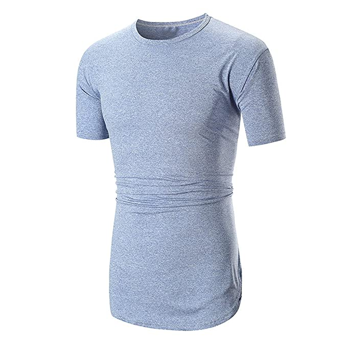 49d0999ca8926 Hombre Camisas Blusa Manga Polos Top Hombre Slim Blusas Sólida Verano  Lanskirt Tops Fit Y Corta 3xl Básica Camisetas De Moda ...