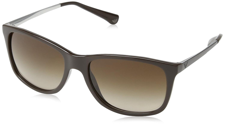 EMPORIO ARMANI Men 4023 Sunglasses Black 501781 57 EA 4023 57 501781 MOD.4023SUN50178157_501781-57