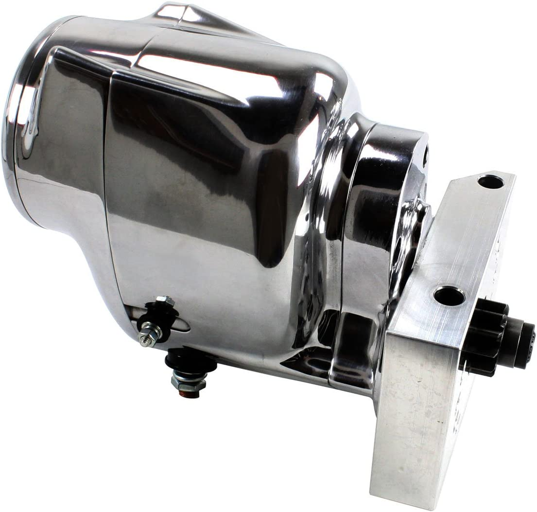 Pontiac and Olds 1965-81 polished finish Pertronix S3006P Contour Starter