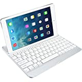 kwmobile Tastiera Bluetooth wireless con tastiera QWERTY, colore , per Apple iPad Air e per tutti gli altri tablet, smartphone e PC abilitati Bluetooth