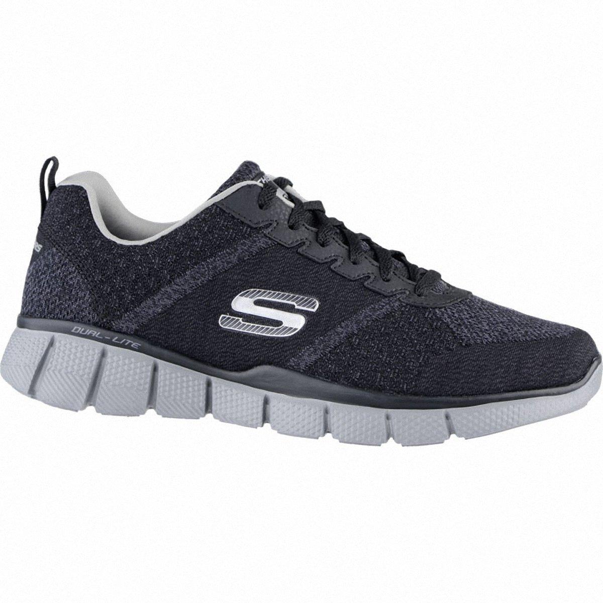 Skechers equalizer 2.0 True Balance Black/Charcoal Mens 9
