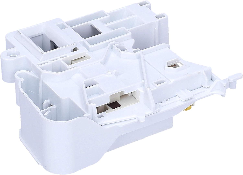 Wessper - Interruptor de bloqueo de puerta para lavadora Hotpoint AQ8F292UEU/E