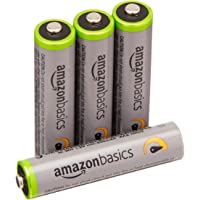 4Pk. AmazonBasics AAA Rechargeable Batteries