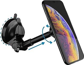 Vetter Soporte Magnético Móvil Coche, Soporte Smartphone Vehículo para Rejilla del Aire para iPhone 11/11 Pro, Xs/X, 8/8 Plus, Huawei P30 P20, Samsung S10/S10+, S9/S9+, S8/S8+, Xiaomi: Amazon.es: Electrónica