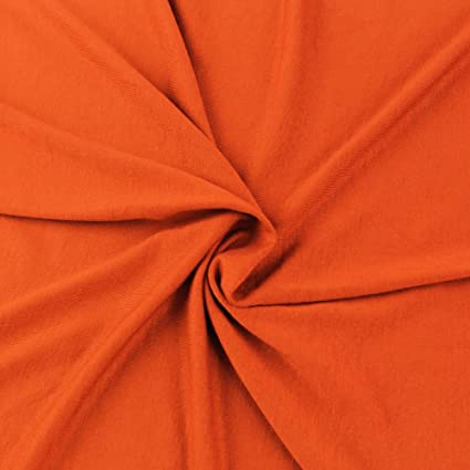 f12ff2617b2 Image Unavailable. Image not available for. Color: BRIGHT ORANGE Knit ...