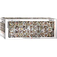 The Sistine Chapel Ceiling by Michelangelo 1000-Piece Puzzle