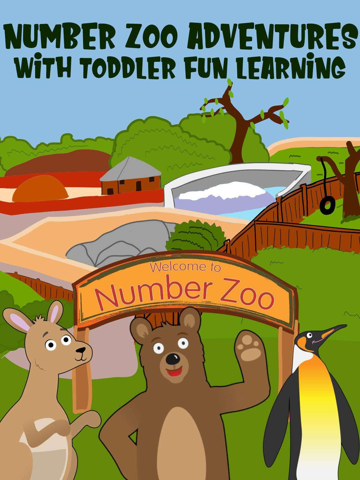 Number Zoo Adventures with Toddler Fun Learning