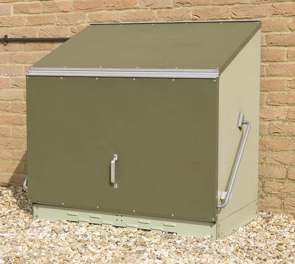 #Gartenbox Sentinel aus PVC / Stahl#