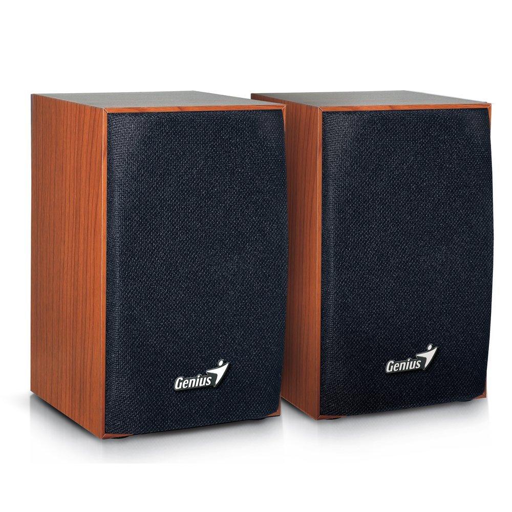 Genius USA Sp Hf160 4W Speakers Wood 31731063101