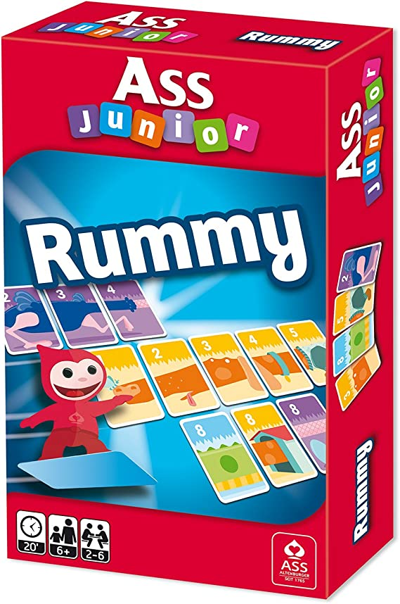 ASS Altenburger 22509606 – Junior, Rummy, Juego de Mesa.: Amazon.es: Juguetes y juegos