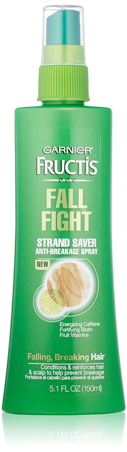 Garnier Fructis Haircare Fall Fight Strand Saver Anti-Breakage Spray 5.1 oz Pack of 3