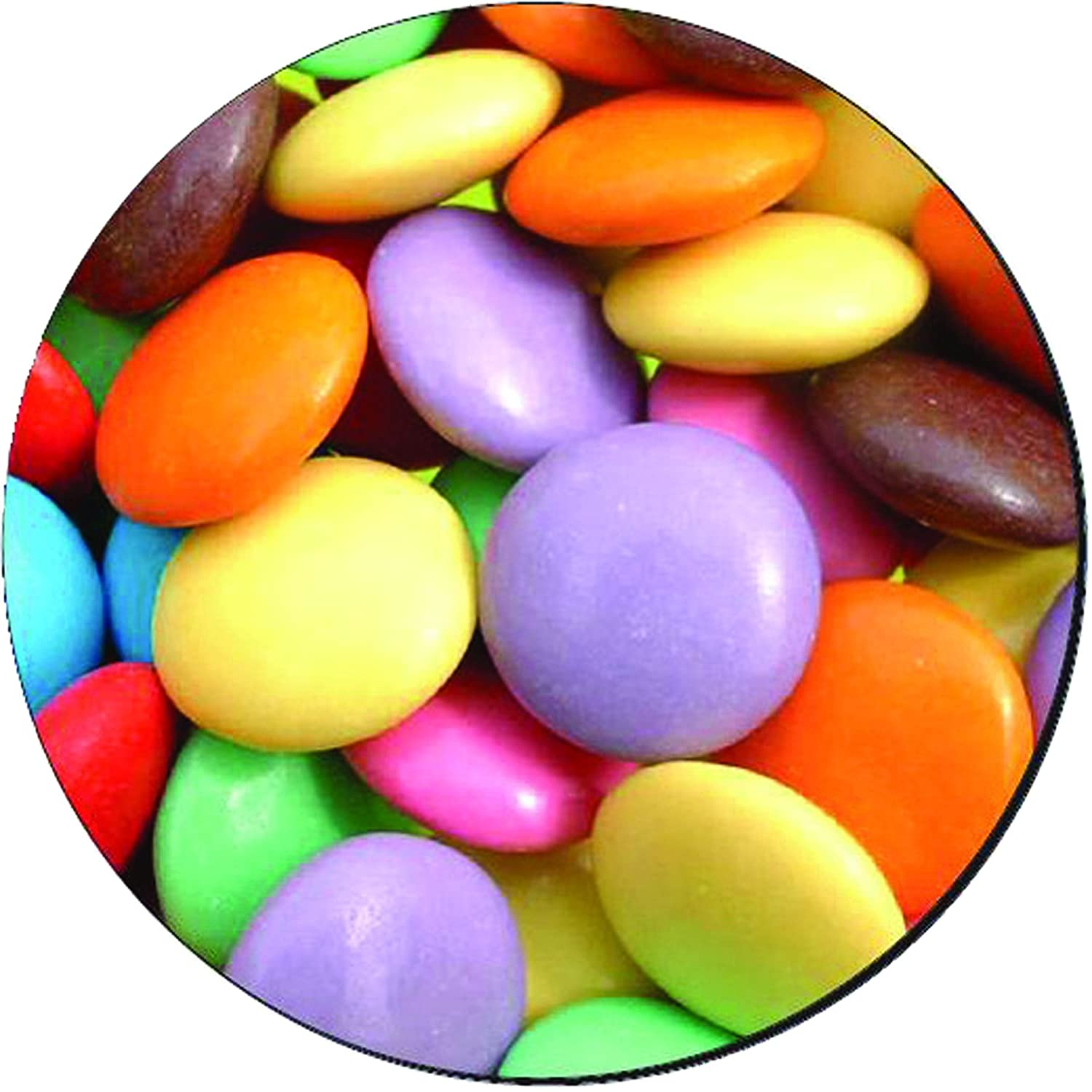 Fellowes Round Brite Mat Mouse Pad Smarties Ebay