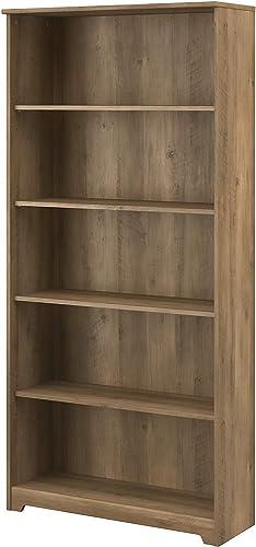 Bush Furniture Cabot Tall 5 Shelf Bookcase Review