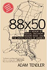 88x50: A Memoir of Sexual Discovery, Modern Music and  The United States of America Paperback