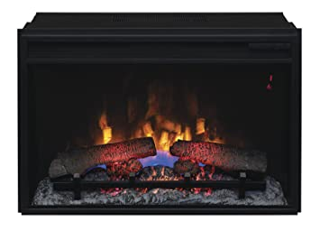 "Amazon.com: ClassicFlame 26II310GRA 26"" Infrared Quartz Fireplace Insert with Safer Plug: Home & Kitchen"