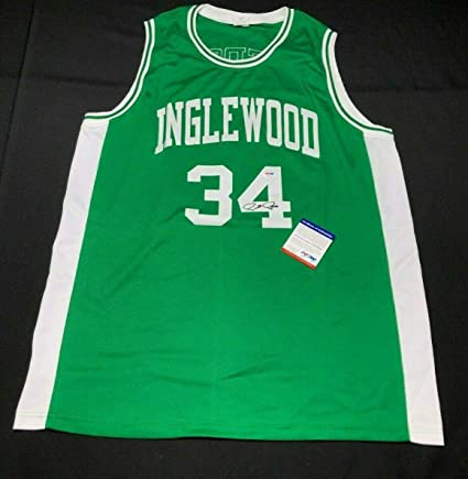 new concept 7cf41 09cb7 Signed Paul Pierce Jersey - Inglewood High School * - PSA ...