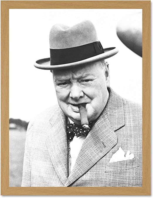 Picture World War 2 British Prime Minister Framed Print Winston Churchill