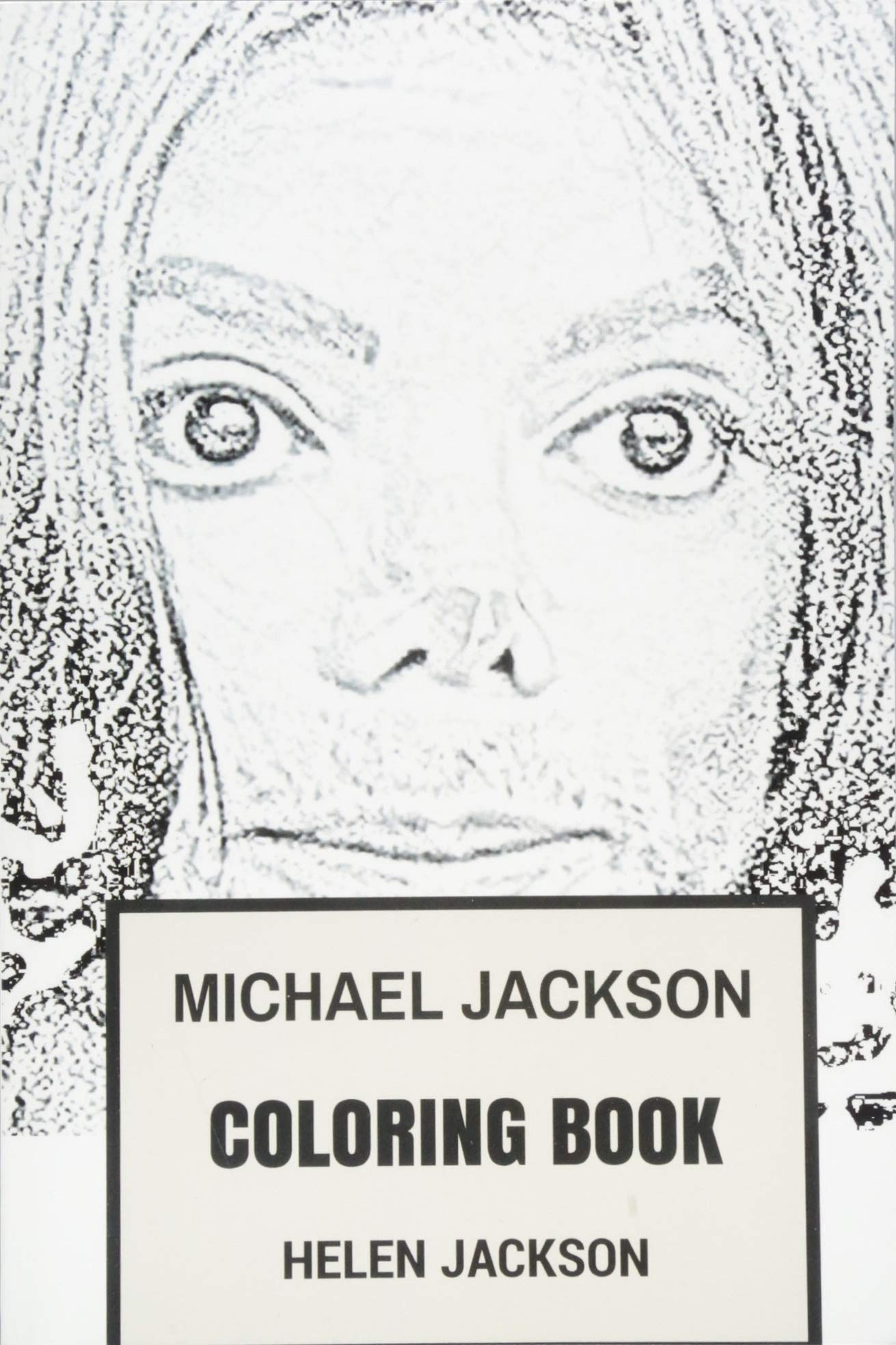 Michael jackson coloring book king of pop and the essence of classic dance music tribute to the best musician of all time adult coloring books paperback