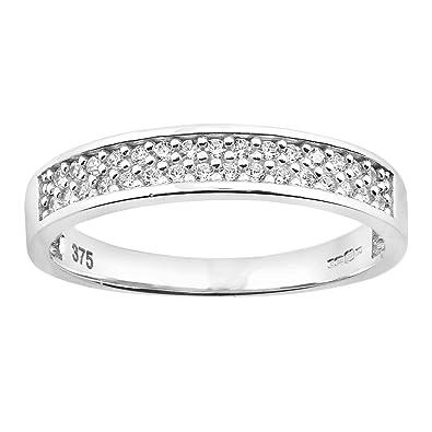 Citerna 9 ct Eternity Ring with CZ Stones eLsfRq