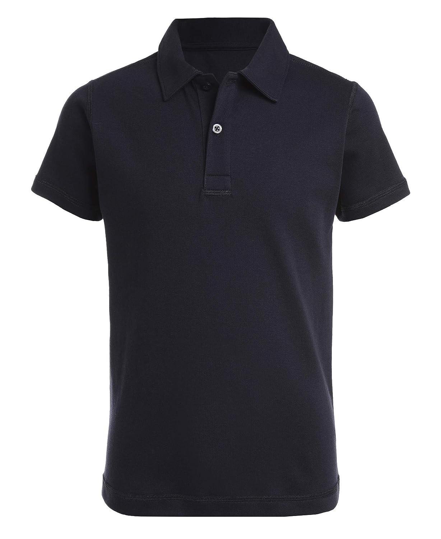 Nautica Boys Sensory-Friendly Short Sleeve Polo Shirt