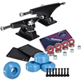 Cal 7 Skateboard Package | Complete Combo Set with 139 Millimeter / 5.25 Inch Aluminum Trucks, 52mm 99A Wheels & Bearings
