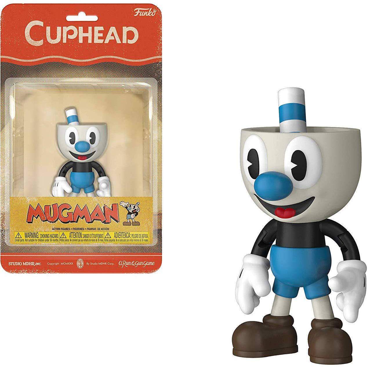 Amazon com: Mugman: Funko Cuphead x Mini Action Figure + 1 Video