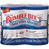 Bumble Bee Solid White Albacore Tuna, 5 Oz, Pack Of 8 Cans