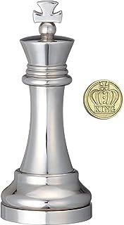 Eureka 473684 Bishop Juego de ajedrez Fundido, Plata: Amazon.es: Juguetes y juegos