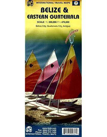 Belize & Eastern Guatemala 1:300K/470K
