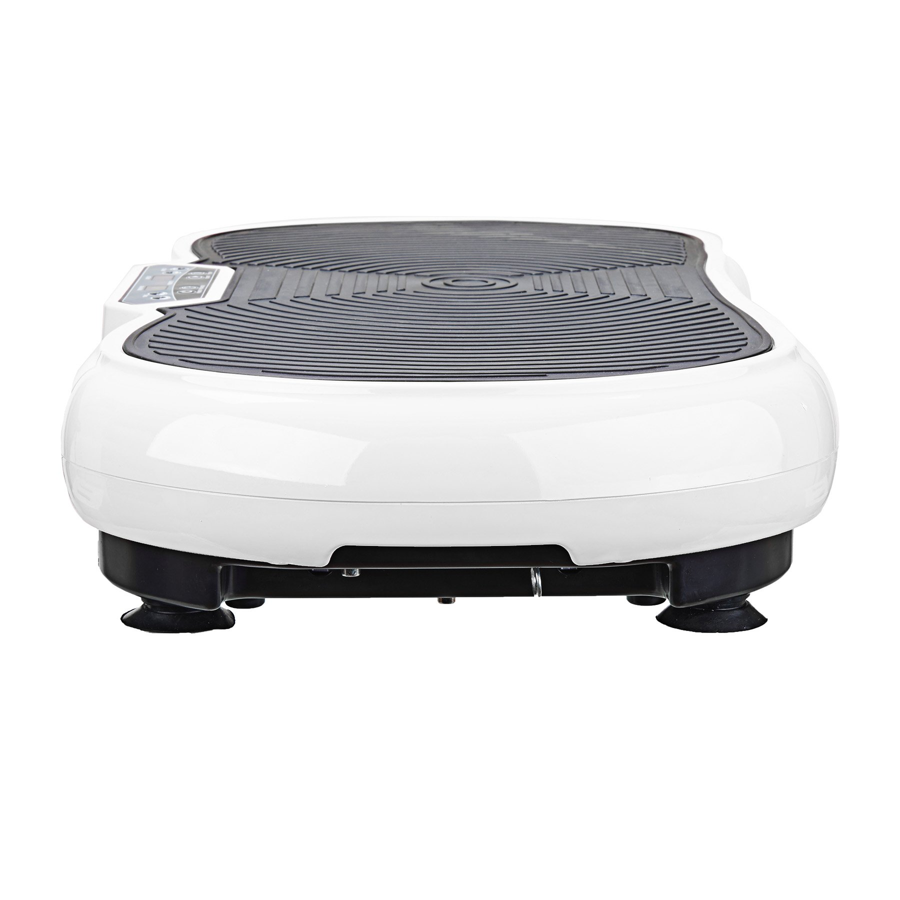Pinty Fitness Vibration Platform - Whole Body Vibration Machine Crazy Fit Vibration Plate with Remote Control & Resistance Bands (White) by Pinty (Image #2)
