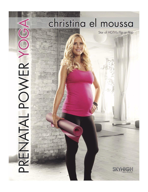 amazon com christina el moussa prenatal power yoga christina el