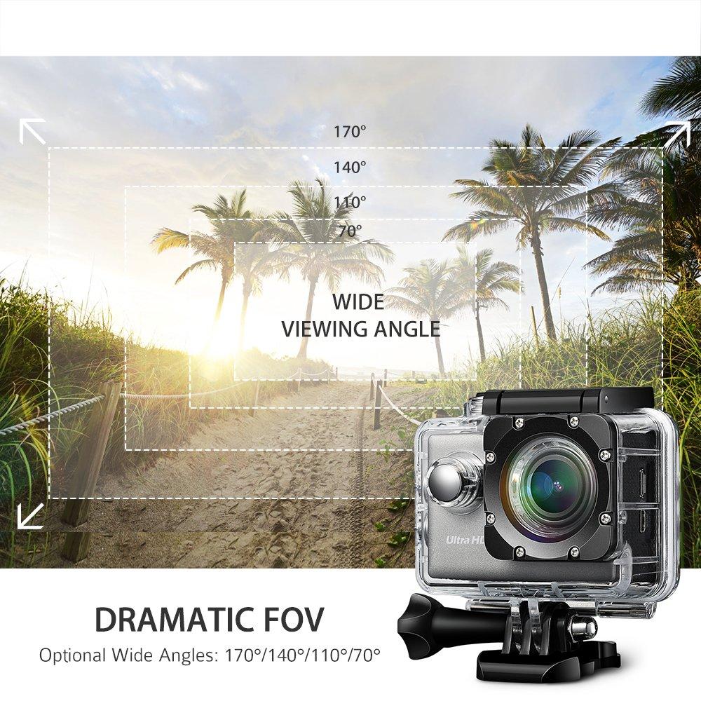 cámara deportiva victsing 4k