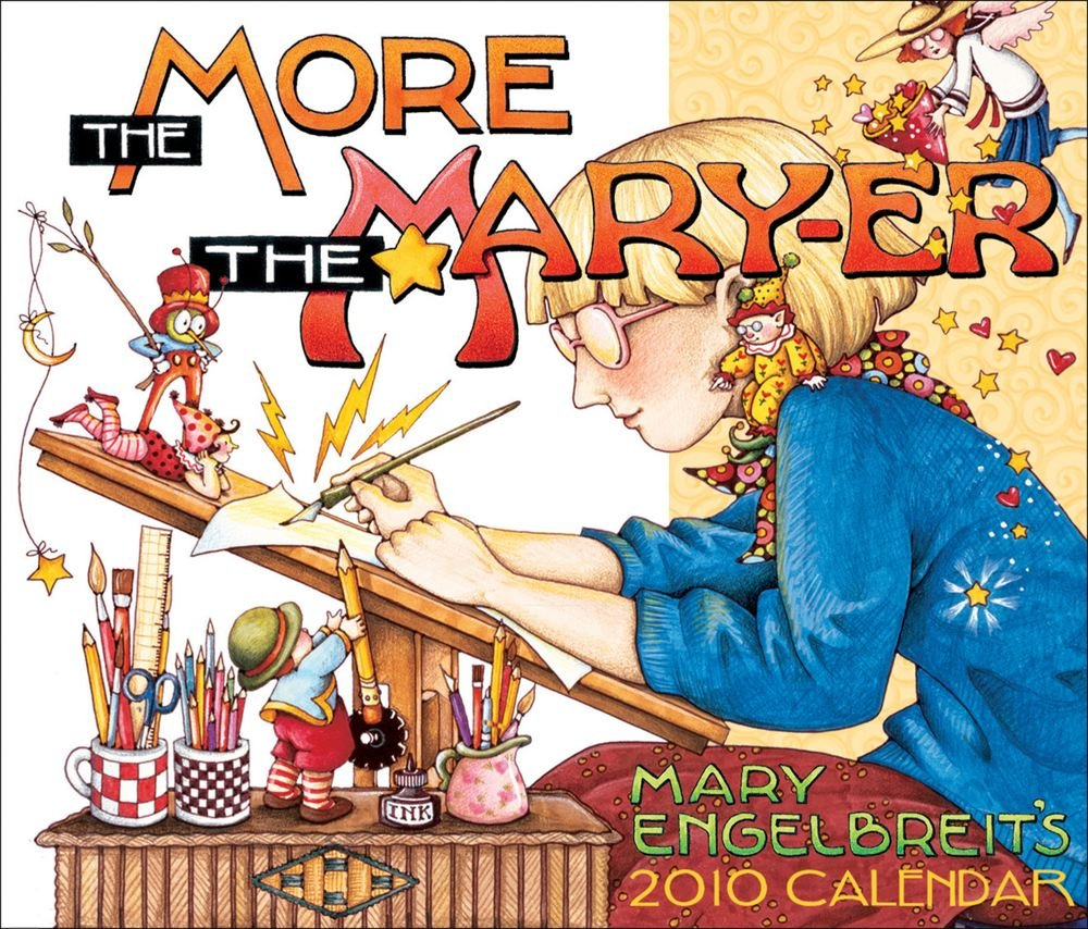 Mary Engelbreit's The More The Mary-Er: 2010 Day-to-Day Calendar Text fb2 book