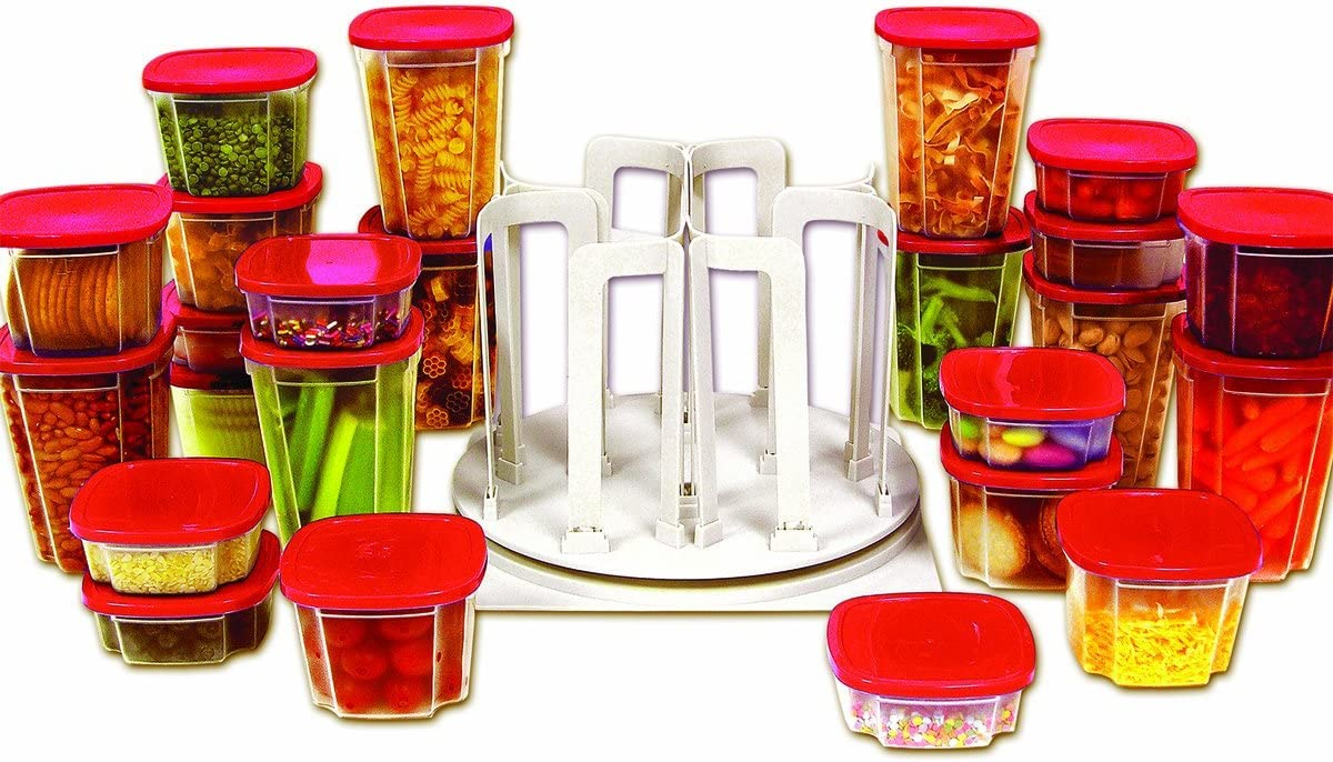 Swirl Around Carousel & Storage Food Containers