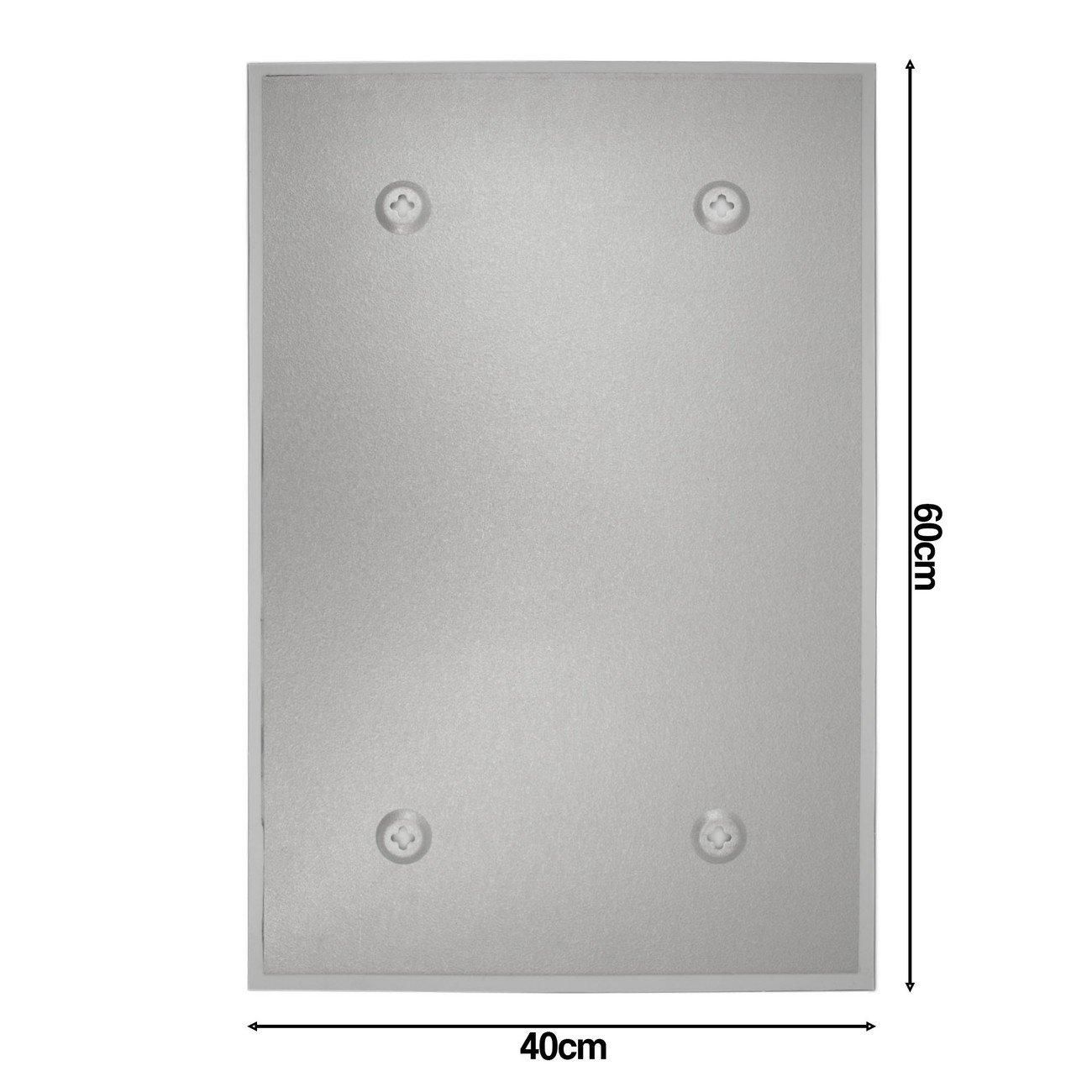 BANJADO Design Glas-Magnettafel viele Größen   Magnetwand mit mit mit 4 Magneten   Memoboard beschreibbar   Magnetboard mit Motiv Innere Ruhe 40x60cm ce4a04